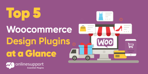 Top 5 Woocommerce Design Plugins at a Glance