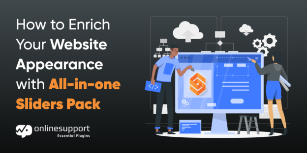 Enrich your website appearance with all in one sliders pack